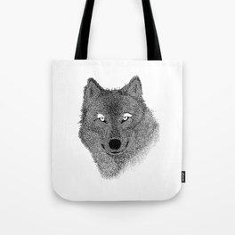 Lucio The Wolf - Illustration Tote Bag
