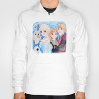 frozen Hoodies featuring Frozen by enerjax