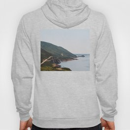 Cabot Trail in Cape Breton Nova Scotia Hoody