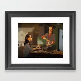 Elementary - new years! Framed Art Print