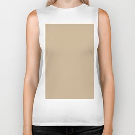 Almond Buff - Fashion Color Trend Fall/Winter 2018 Biker Tank