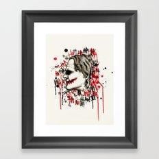He Who Laughs Framed Art Print