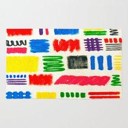 Dribble Scribble Rug