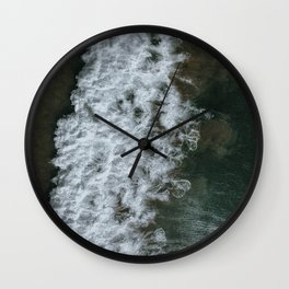 Ode to waves Wall Clock