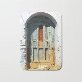 """Old Door"" / Porte Vintage / by WHITEECO Ecologic design Bath Mat"