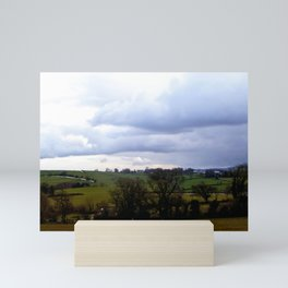 Rural Cornwall Landscape Mini Art Print