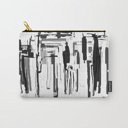 City in Black and White Carry-All Pouch