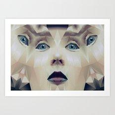 Facet_CD1 Art Print