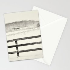Winter Pasture Stationery Cards