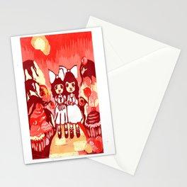Lollipop Girls. Stationery Cards