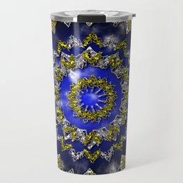The Origin Gold and Silver With Plasma Travel Mug