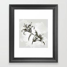 Fleur de lys Framed Art Print