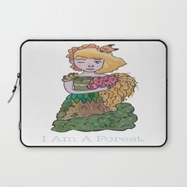 I Am A Forest Laptop Sleeve