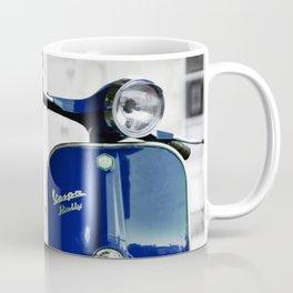 Classic Blue Vespa Coffee Mug
