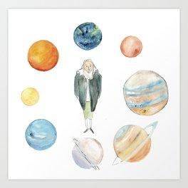 Galileo Art Print