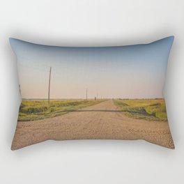 Countryside Near Garrison, ND 5 Rectangular Pillow
