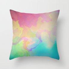 Glitch 10 Throw Pillow