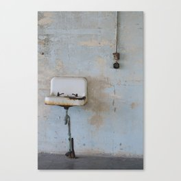 Old Sink Canvas Print
