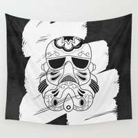 storm trooper Wall Tapestries featuring Storm Trooper #3 by vrdgrs