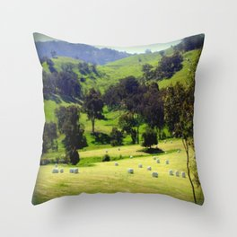 Life in the Country Throw Pillow