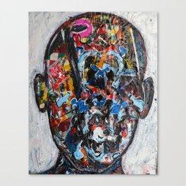 """Facing the faceless"" Canvas Print"