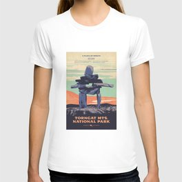 Torngat Mountains National Park Poster T-shirt