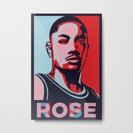 Rose is Hope Metal Print