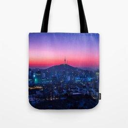 Twilight Seoul Tote Bag