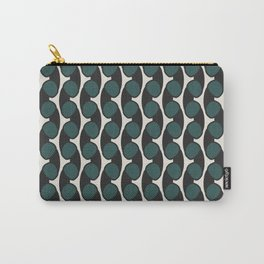 geo six retro-teal Carry-All Pouch