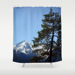 Long way to the top Shower Curtain