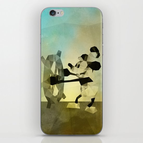 Mickey Mouse as Steamboat Willie iPhone & iPod Skin