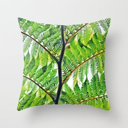 Second Exotc Tree Throw Pillow