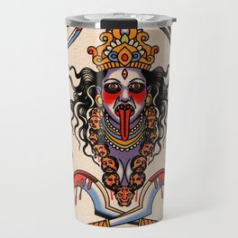Warrior goddess Travel Mug