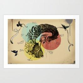 Messages Art Print