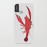 cancer iPhone & iPod Cases featuring Cancer by Rejdzy
