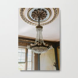 Charleston Chandelier Metal Print