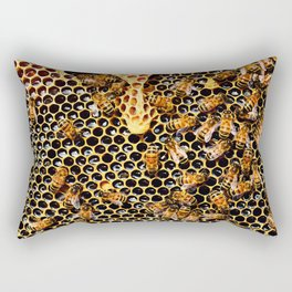 Sweet Honey Harvest Rectangular Pillow