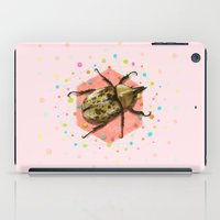 insect iPad Cases featuring INSECT II by dogooder