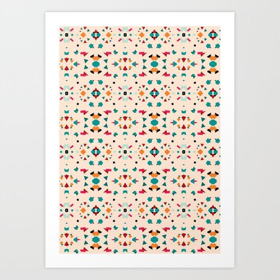 Kaleidoscope Number 2 Art Print