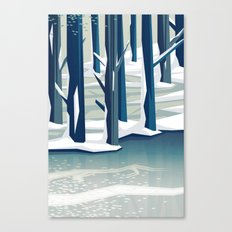 Spring was coming Canvas Print
