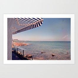 Spanish Beachside Brunch Art Print