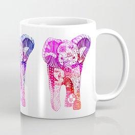 An Elephant Plays Soccer Coffee Mug