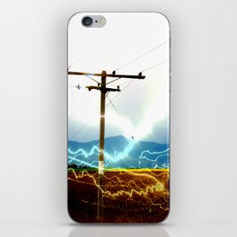 Power Baby, Power by D. Porter iPhone Skin