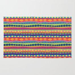 Stripey-Crayon Colors Rug
