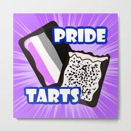 Asexual Pride Tarts Metal Print