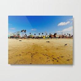 Santa Cruz Pier Metal Print