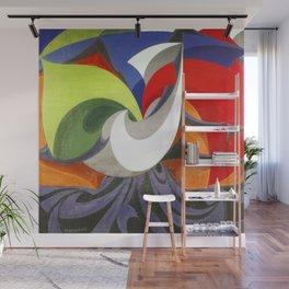 Giacomo Balla Long Live Italy Wall Mural