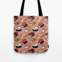 Sushi Shiba Inu Tote Bag