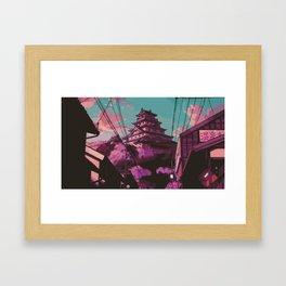 Hasetsu Castle Framed Art Print