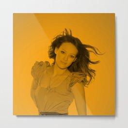 Hilary Duff - Celebrity (Zoom Pose) Metal Print